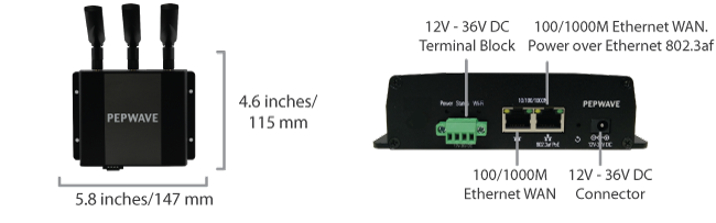 Device Connector – Indoor Rugged Specifications