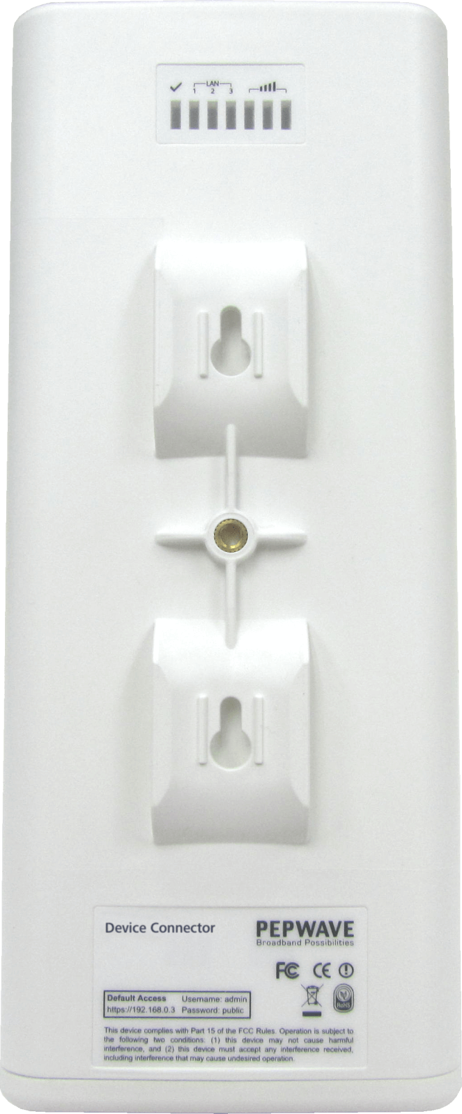 Pepwave Device Connector IP55 back